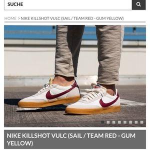 NWT Nike Killshot 2 Vulc (Burgandy) Size 9.5